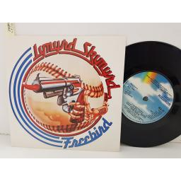 "LYNYRD SKYNYRD - freebird, SWEET HOME ALABAMA, DOUBLE TROUBLE. MCA251, 7"" EP single"