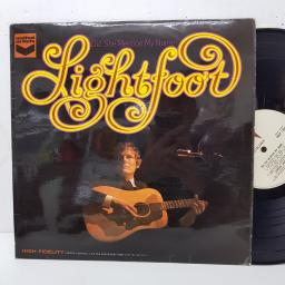 "GORDON LIGHTFOOT - did she mention my name? SULP1199, 12""LP, beige label with black font"