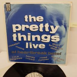 "THE PRETTY THINGS - Live at heartbreak hotel, WIK24, 12"" LP"