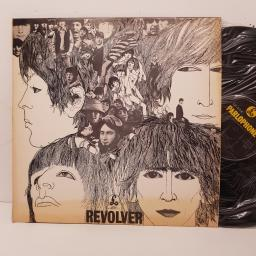"THE BEATLES - revolver. 11C07404097, 12""LP,black label with silver font"