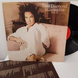 "NEIL DIAMOND - 12 greatest hits volume II. CBS85844, 12"" LP."