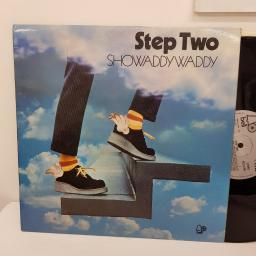 "SHOWADDYWADDY - Step two. BELLS256, 12"" LP. Silver label with black font."