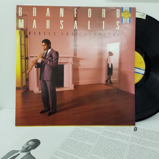 "BRANFORD MARSALIS- Romances for saxophone. M42122, 12"" LP"