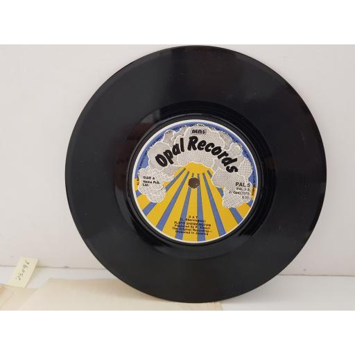 "PLUTO SHERVINGTON - dat. PAL5, 7"" single"