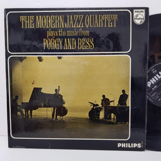 """THE MODERN JAZZ QUARTET - plays the music from Porgy and Bess. BL7692, 12"""" LP, black label with silver font."""
