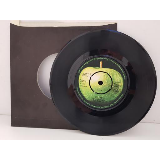 "THE BEATLES - hey jude/ revolution. R5722, 7"" single, apple label"
