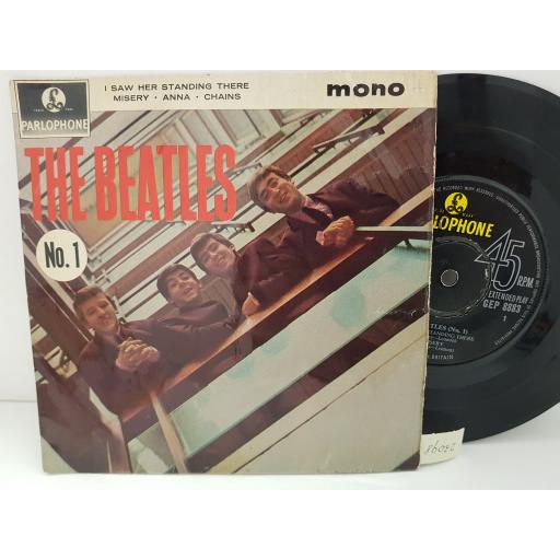 """THE BEATLES - the beatles No.1 . GEP8883, 7"""" single"""