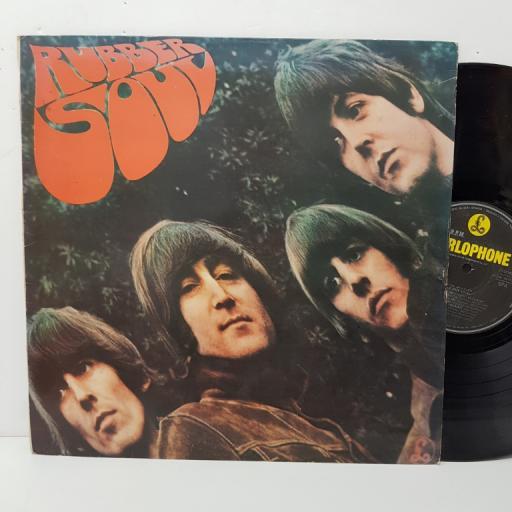"""THE BEATLES - rubber soul. 11C07404115, 12""""LP, black label with silver font"""