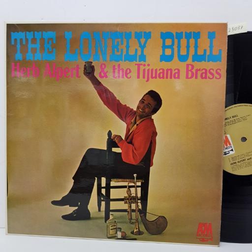 """HERB ALBERT & THE TIJUANA BRASS - the lonely bull. AML909, 12""""LP"""