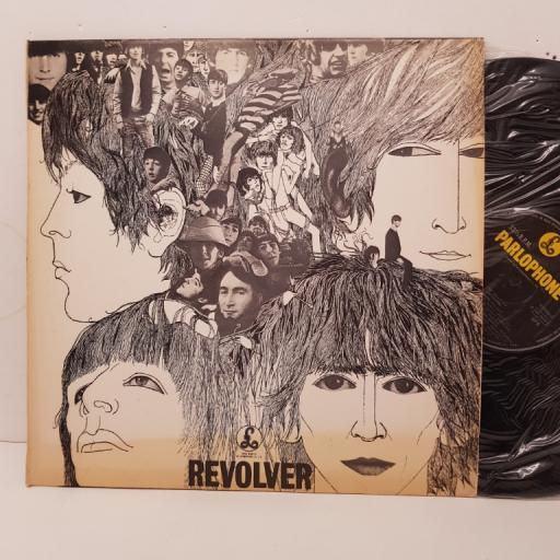 """THE BEATLES - revolver. 11C07404097, 12""""LP,black label with silver font"""