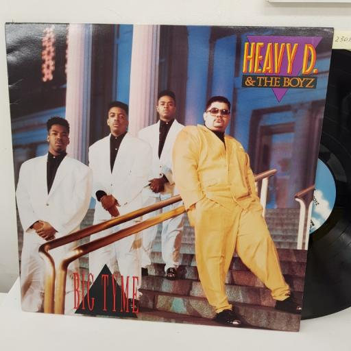 "HEAVY D &THE BOYZ - big tyme. MCG6057, 12"" LP."