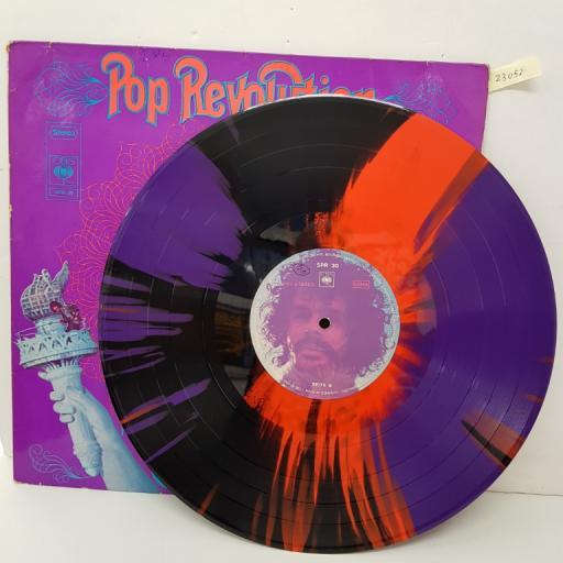"""Pop revolution from the underground. SPR30, 12""""LP."""