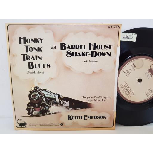 """KEITH EMERSON - honky tonk train blues. K13513, 7"""" single"""