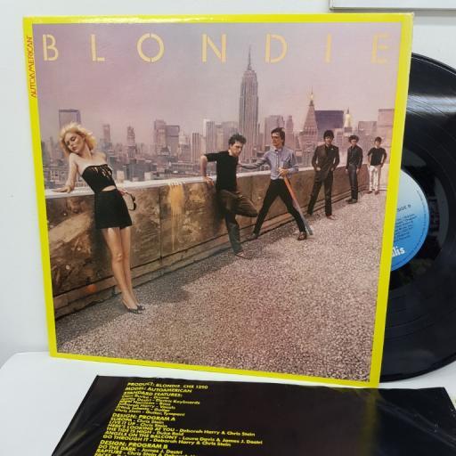 """BLONDIE - Autoamerican. CHE1290, 12"""" LP."""