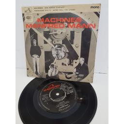 "MANFRED MANN - machines. 7EG8942,7 ""LP"