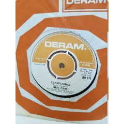 "WHITE PLAINS - step into a dream. DM371, 7"" single"