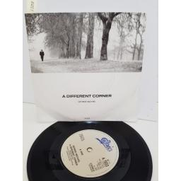 "GEORGE MICHAEL - a different corner. A7033, 7"" single"