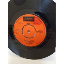 "THE CHIFFONS - one fine day/ sweet talking guy. HLP10271, 7"" single"