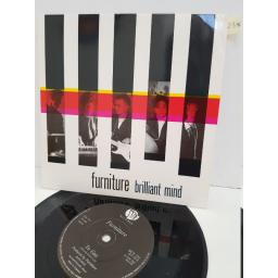 "FURNITURE - brilliant minds. BUY251, 7"" single"