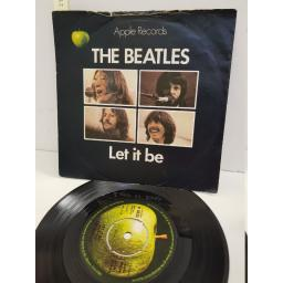 "THE BEATLES - let it be/ you know my name. R5833, 7"" single"