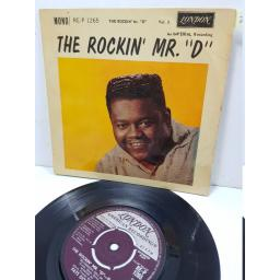 "THE ROCKIN' MR ""D"" - fats domino. REP1265, 7"" single"