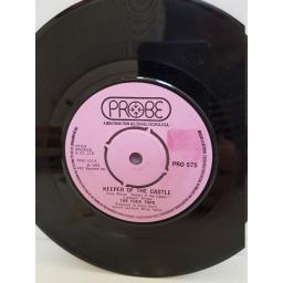 "THE FOUR TOPS - keeper of the castle. PRO575, 7"" single"