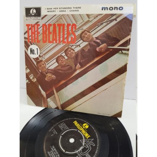 "THE BEATLES - no.1. GEP8883, 7"" single"