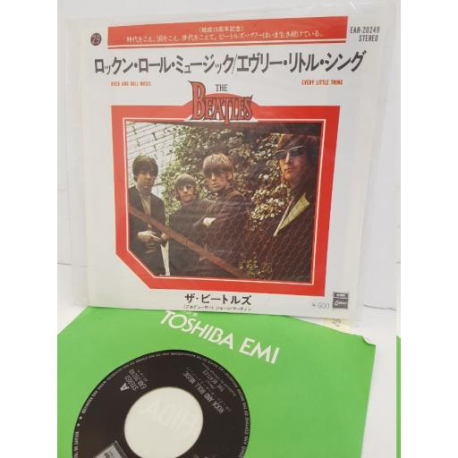 """THE BEATLES - rock and roll music/ every little thing. EAR20249, 7"""" single"""