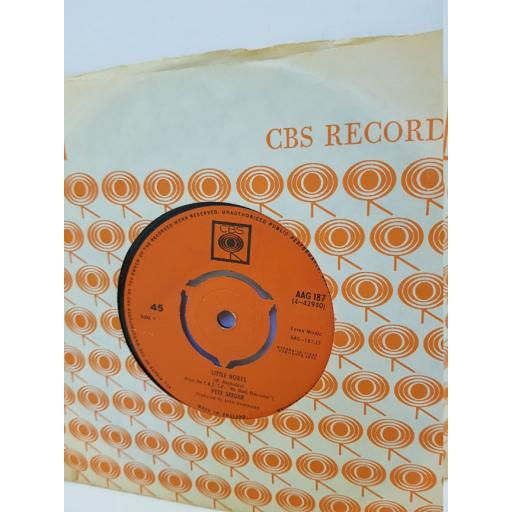 "PETE SEEGER - little boxes/ mail myself to you. AAG187, 7"" single"