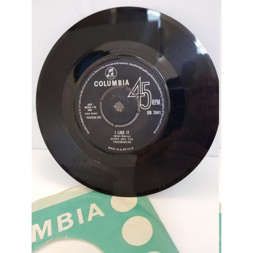 """GERRY AND THE PACEMAKERS - i like it. DB7041, 7"""" single"""