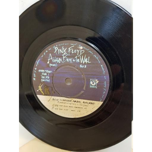 """PINK FLOYD - another brick in the wall/ one of my turns. HAR5194, 7"""" single"""
