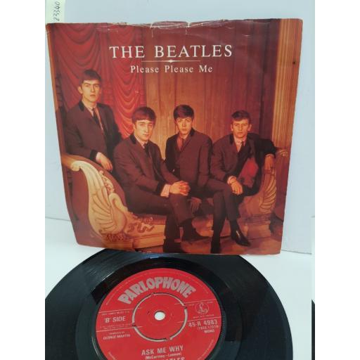 "THE BEATLES - please please me. R4983, 7"" single"