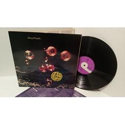 "DEEP PURPLE who do we think we are. TPSA 7508. 1st PRESSING 1973. A 1U, B 1U , ""PORKY"" on run off matrix. First UK pressing. 1973. With lyric insert"