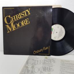 "CHRISTY MOORE - ordinary man. 2407631, 12""LP"