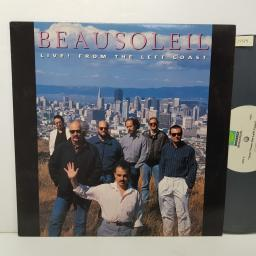 "BEAUSOLEIL - live! from the left coast. 6035, 12""LP"