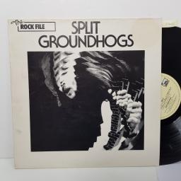 "GROUNDHOGS - split. LBR1017, 12""LP"