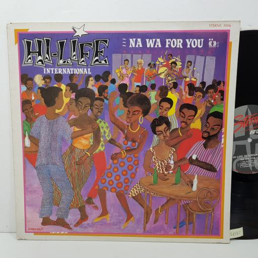 "HI-LIFE INTERNATIONAL - na wa for you. STERNS1006, 12""LP"