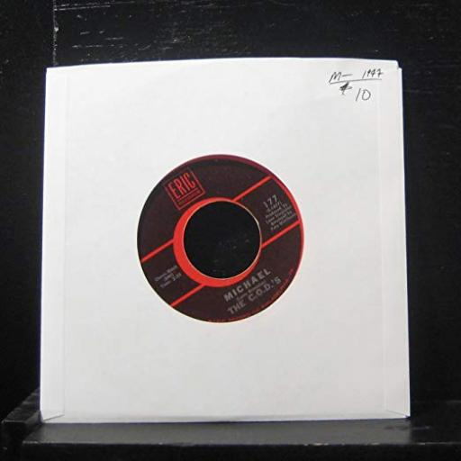 "THE C.O.D.S - michael/ im a good guy. 177, 7"" single"