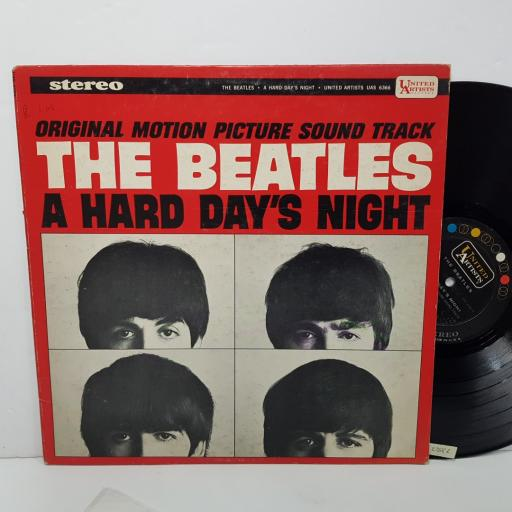 """THE BEATLES - original motion picture sound track a hard day's night. UAS6366, 12""""LP"""