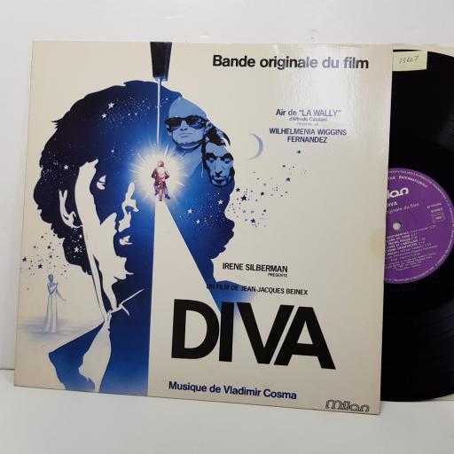 """VLADIMIR COSMA - diva ( bande originale du film). RC250, 12""""LP"""