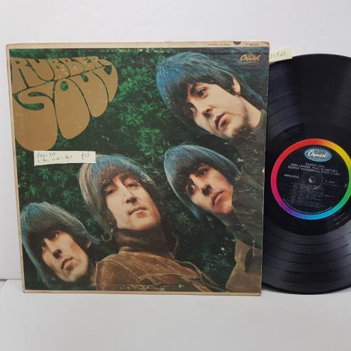 """THE BEATLES - rubber soul. T2442, 12""""LP"""