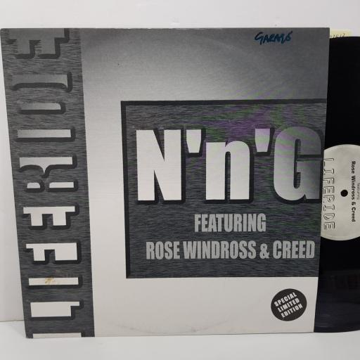 "N'N'G FEAT. ROSE WINDROSS & CREED - liferide. CITY1025, 12""LP"