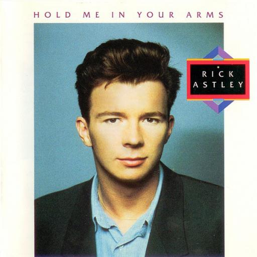 "RICK ASTLEY - hold me in your arms. PL71932, 12""LP."