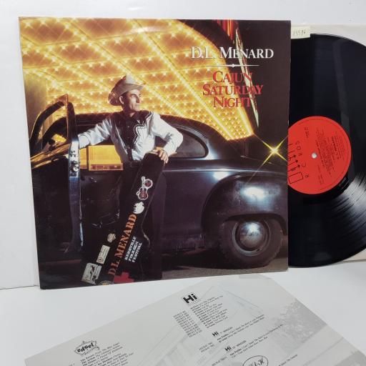 """D.L. MENARD - cajun saturday night. FIEND64, 12""""LP"""