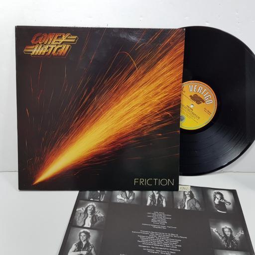 "CONEY HATCH - friction. VERL23, 12""LP"