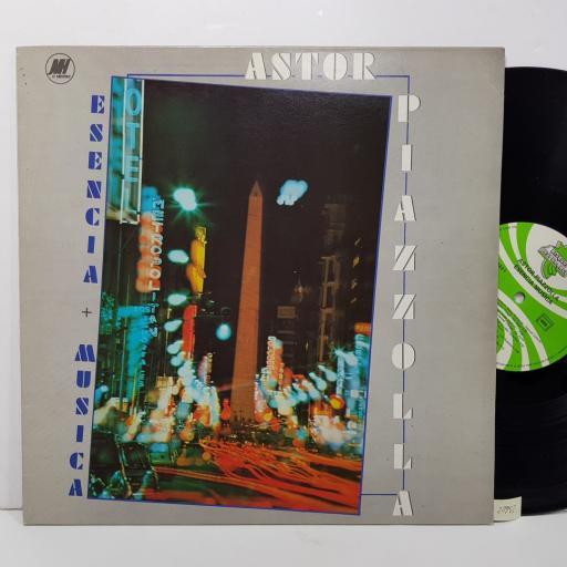 "ASTOR PIAZZOLLA - esencia + musica. ESP8421, 12""LP"