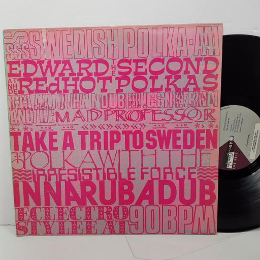 "EDWARD THE SECOND AND THE RED HOT POLKAS. FRY007T, 12"" SINGLE"