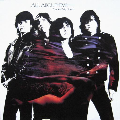 """ALL ABOUT EVE - touched by jesus. 5101461, 12""""LP"""