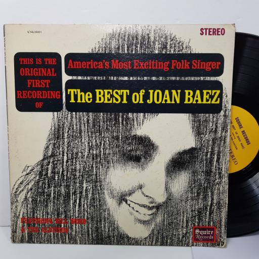 "JOAN BAEZ - the best of joan baez. SQ33001, 12""LP"