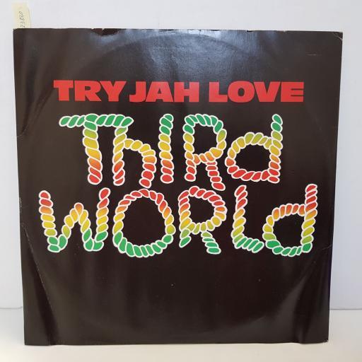 """THIRD WORLD - try jah love. A132063, 12""""LP"""